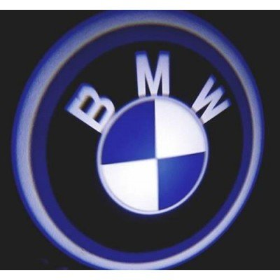 BMW PİLLİ MESAFE SENSÖRLÜ KAPI ALTI LOGO YAPIŞTIRMALI