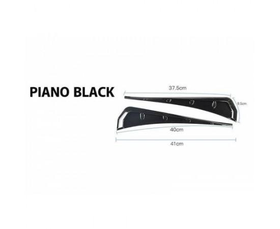 Üniversal Çamurluk Venti Parlak Siyah Fc5 Tipi