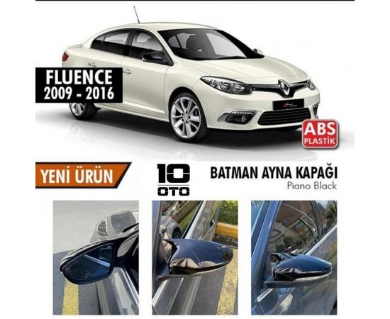 Renault Fluence Yarasa Ayna Kapağı Parlak Siyah