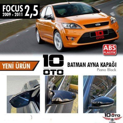 Ford Focus 3 - 3,5 Yarasa Ayna Kapağı Parlak Siyah (2011 / 2018)