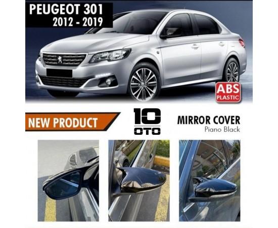 Peugeot 301 Yarasa Ayna Kapağı Parlak Siyah