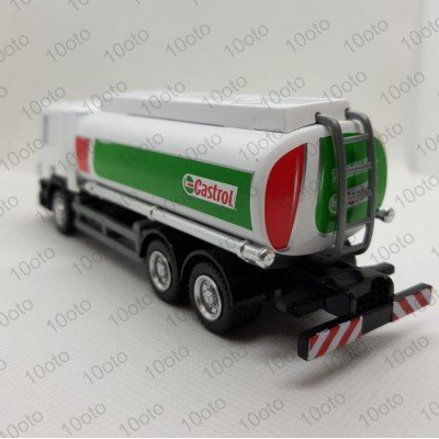 SCANİA P-SERIES CASTROL YAĞ ARABASI 13 CM 1:64 RMZ CITY