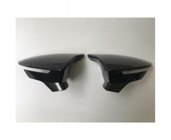 Seat Leon mk3 Yarasa Ayna Kapağı ABS Plastik Batman Piano Black P