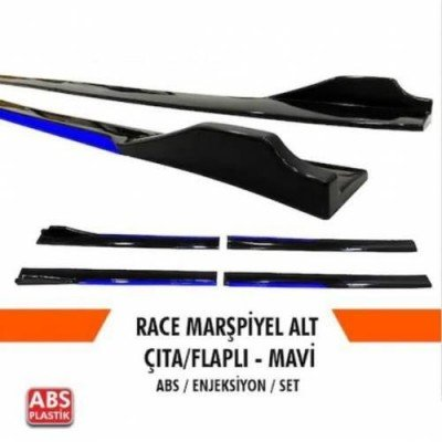 Universal Piano Black Kulaklı Flaplı Marşpiyel Lipi Bıçağı MAVİ
