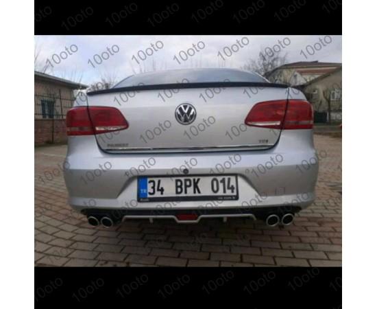 Volkswagen Passat B7 Işıklı Difüzör Üniversal Plastik 4 Çıkış egz